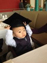 """""""I am a graduate too!"""""""