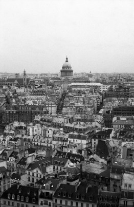 Paris is a very 'developed' city and just how dense it is!
