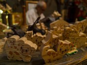 A famous wooden toy store in Rome!