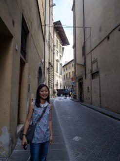 Everything in Florence was single toned. But that's the character of Florence!