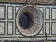 Here's one of the round windows to the dome.