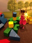 Annabelle loves playing with puzzles and blocks