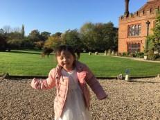 Annabelle loves the sun!