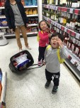 Supermarket time.