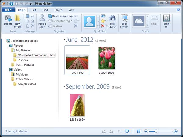#03 - Windows Photo Gallery make full panorama image