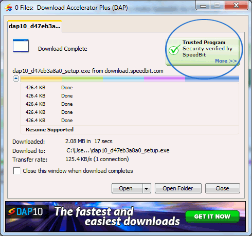 how to resume a download in jdownloader