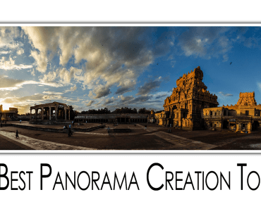 make full panorama image