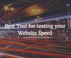 site speed test tools