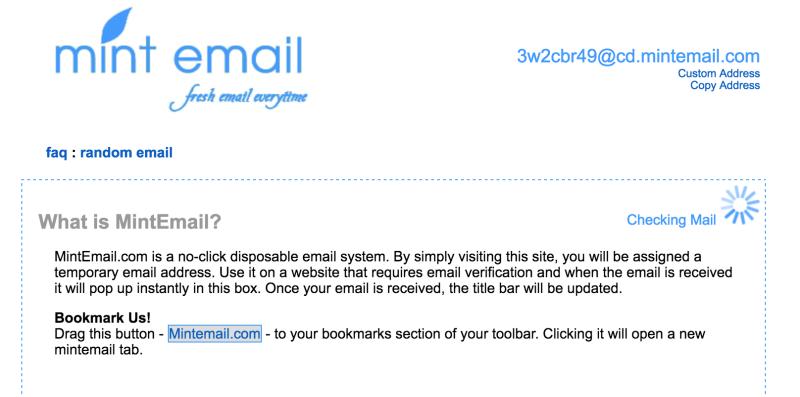 mint mail