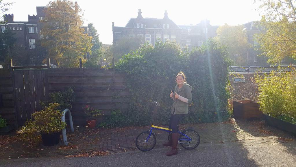 Renting a bike in Amsterdam