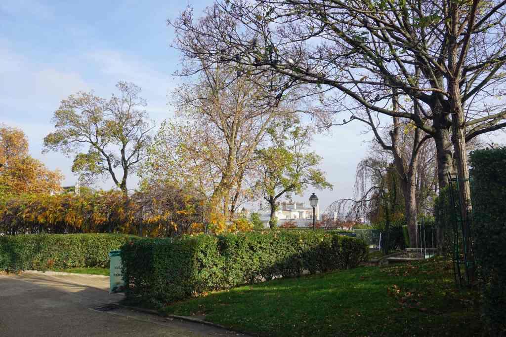 Parc de la Turlure Montmartre Paris