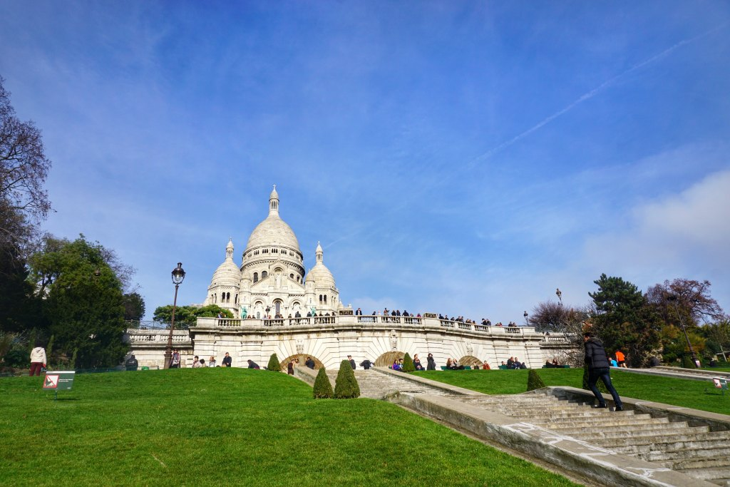 Basilica Sacre-Coeur Montmartre Paris