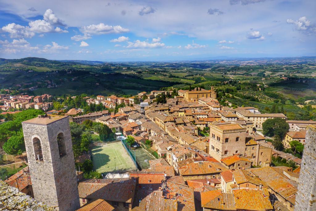San Gimignano Tuscany Italy