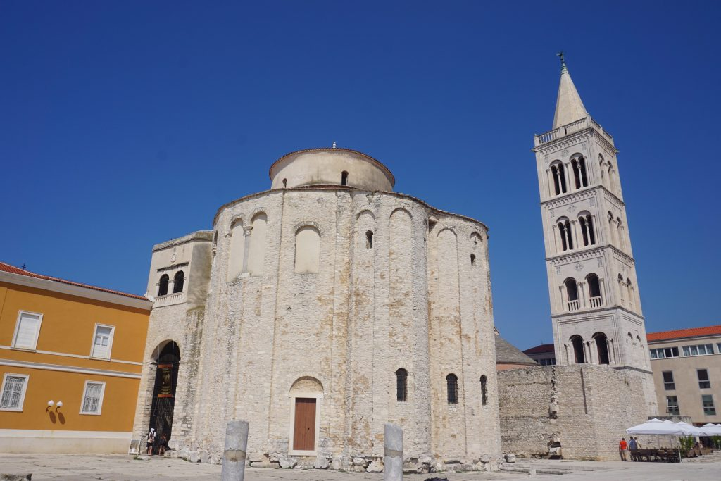 Church of St. Donat Zadar Croatia