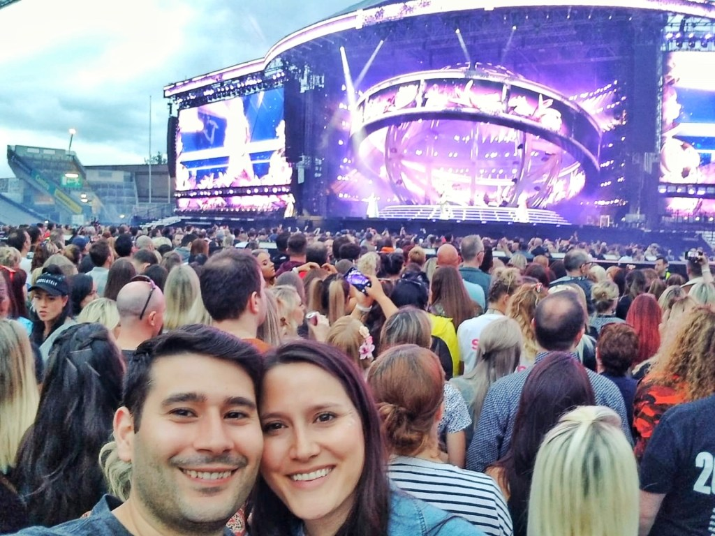 Croke Park Stadium, Spice Girls, Dublin, Ireland