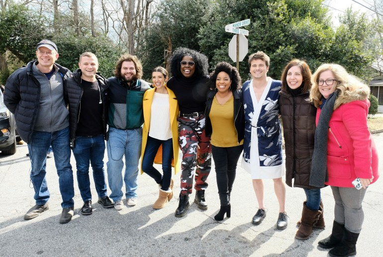 J. MILLER TOBIN (PRODUCER/DIRECTOR), ROBERT ATWOOD (PRODUCER), DUSTIN YBARRA, INDIA DE BEAUFORT, LESLIE JONES, KIMBERLY HEBERT GREGORY, JASON RITTER, MICHELE FAZEKAS (EXECUTIVE PRODUCER), TARA BUTTERS (EXECUTIVE PRODUCER)