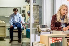 "TIMELESS -- ""The Day Reagan Was Shot"" Episode 208 -- Pictured: Erik Stocklin as John Hinckley Jr. -- (Photo by: Ron Batzdorff/NBC)"