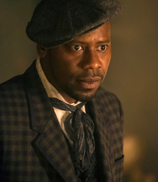"TIMELESS -- ""A History of San Fran"" Episode 210 -- Pictured: Malcolm Barrett as Rufus Carlin -- (Photo by: Ron Batzdorff/NBC)"