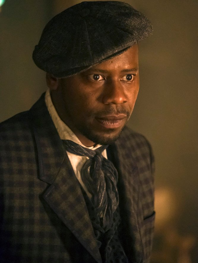 """TIMELESS -- """"A History of San Fran"""" Episode 210 -- Pictured: Malcolm Barrett as Rufus Carlin -- (Photo by: Ron Batzdorff/NBC)"""