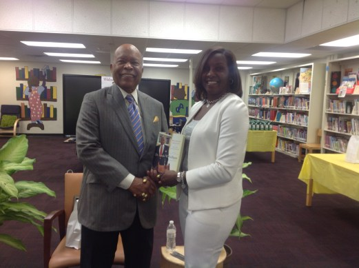 Dr. Sullivan and Thomasville Heights Principal Cynthia Jewell