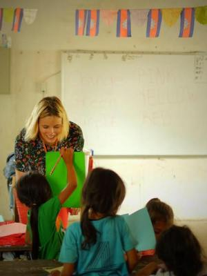 Teaching under privileged children