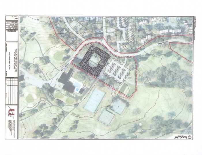 Photo Shows Placement of Memory Care Facility on Killearn Estates Golf Course Property