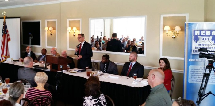 City Commission Candidates Stake Out Positions at NEBA Forum