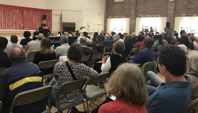 First Town Hall Provides Little Support for Public Safety Campus Location