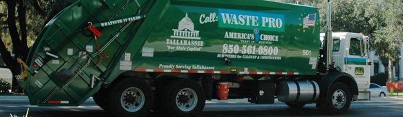 Leon County Receives Waste Pro Update