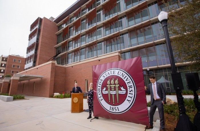 Florida State Opens New Earth, Ocean and Atmospheric Science Building