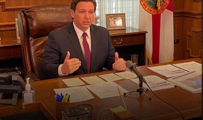 DeSantis Lifts COVID-19 Business Restrictions
