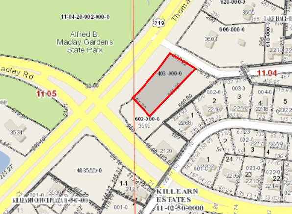 UPDATED: Killearn Homes Association Votes to Sell Land Located at Killearn Estates Entrance