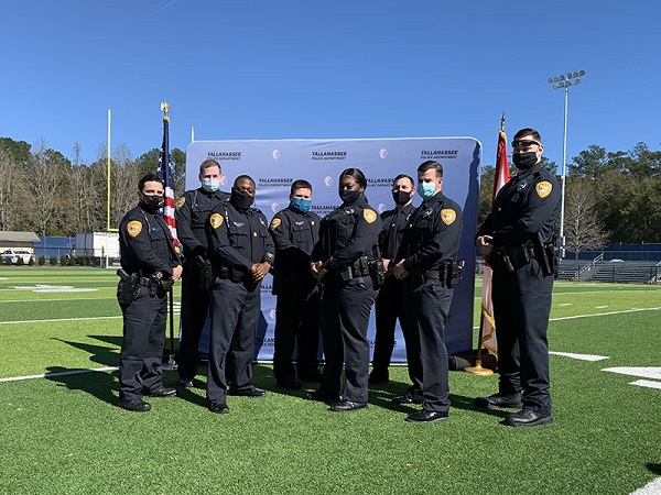 New TPD Officers Sworn-In, New Program Announced