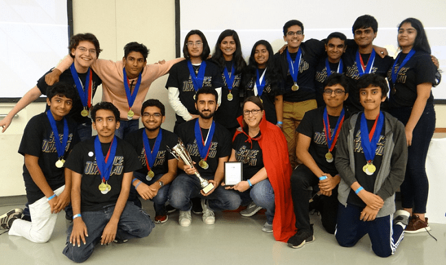 Rickards High School Science Olympiad Team Headed to National Stage
