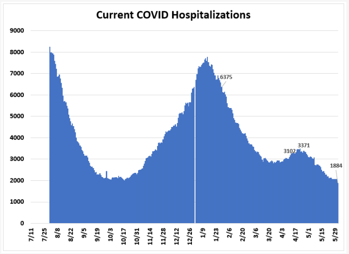 June 1: Tracking Florida COVID-19 Cases, Hospitalizations, and  Fatalities