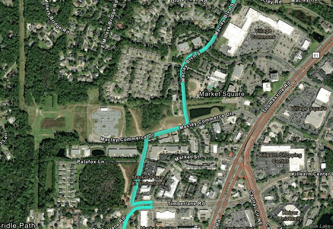 CRPTA to Hear Update on Thomasville Road Multi-Use Path Project