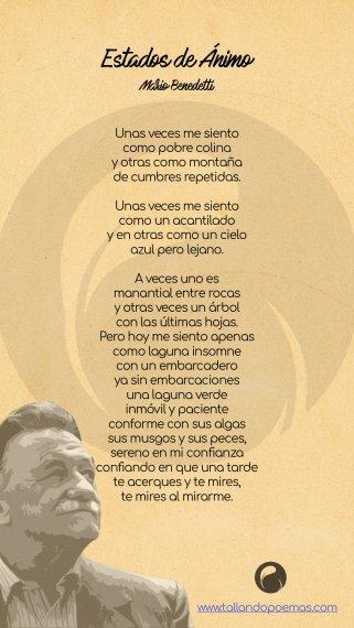 Descargar Estados de Ánimo PDF Mario Benedetti