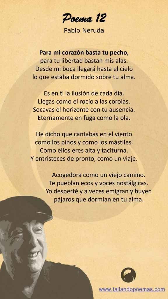 Imagen Poema 12 Pablo Neruda
