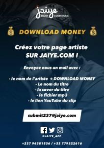 Chantez et gagnez votre vie : Jaiye Cameroun