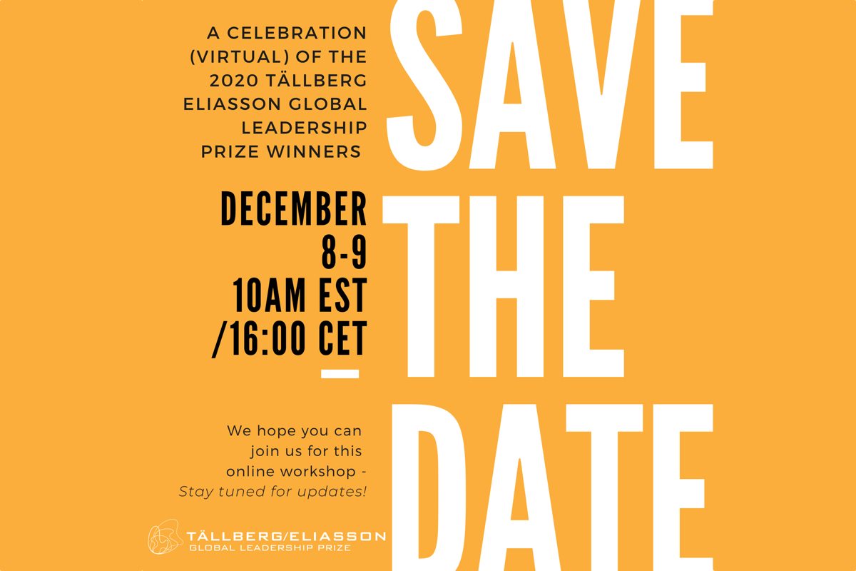 Save the Date – December 8-9, 2020!