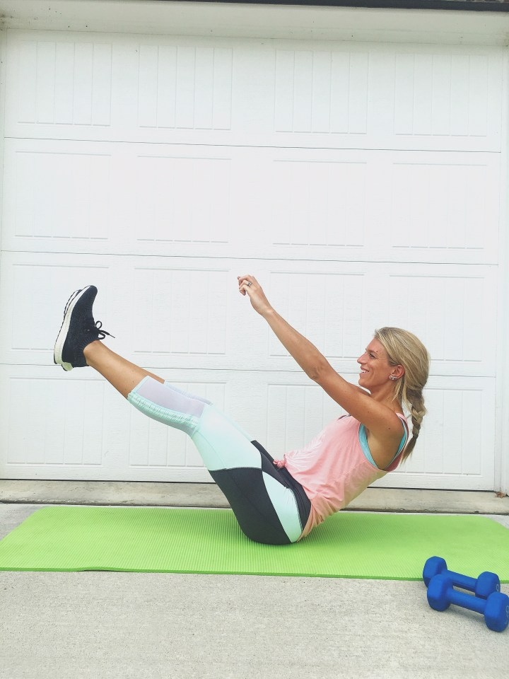 6 Minute Core Sculpting Workout
