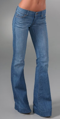 "Women's Tall Bell Bottom Jeans with 36"" Inseam"
