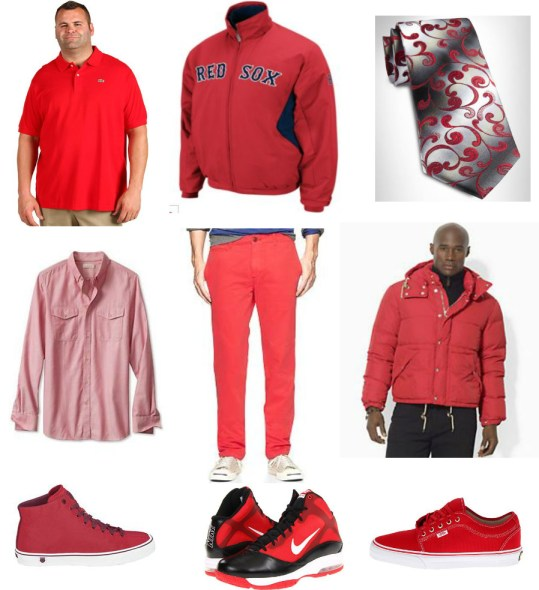 red big and tall clothing