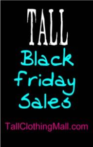 tall black friday sales