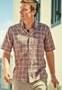 tall plaid shirt