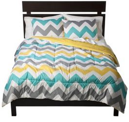 chevron extra long bedding