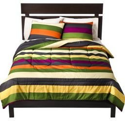 striped extra long twin comforter