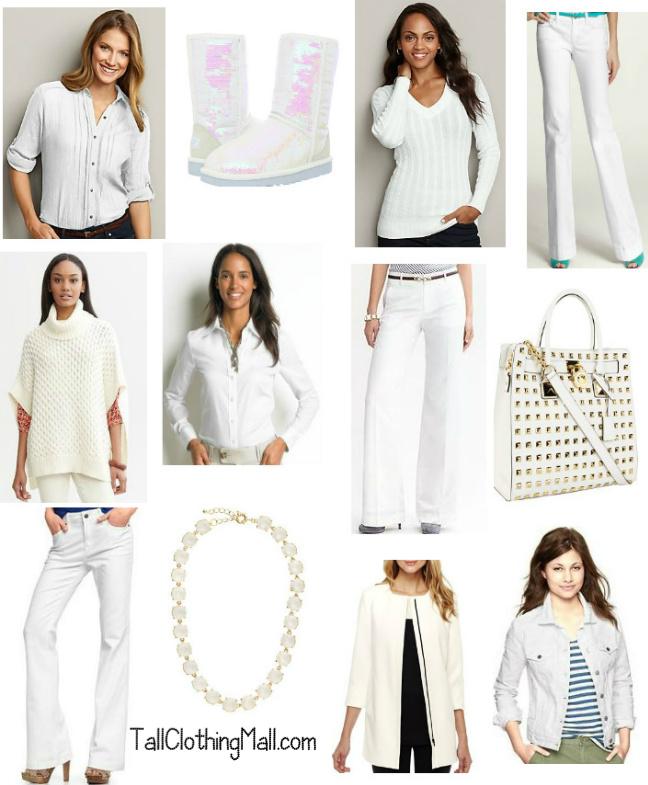 winter whites for tall women