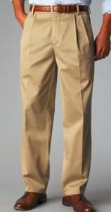 dockers pleated thin and tall khaki pants