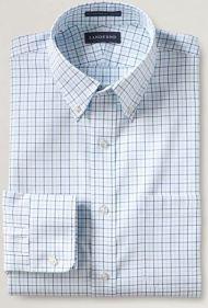 windowpane men's tall dress shirt